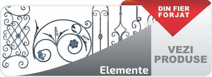 elemente fier forjat
